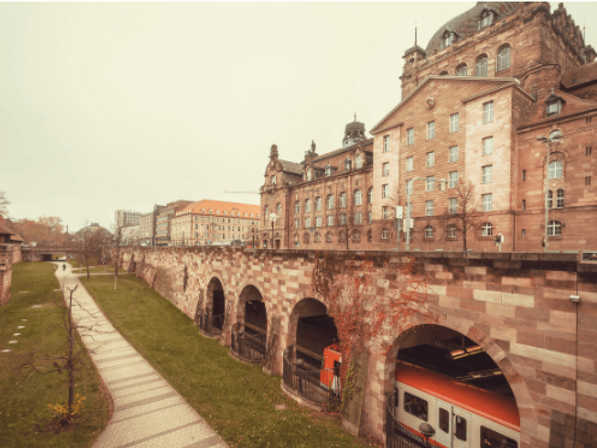 get around Nuremberg.